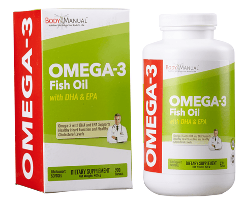 Omega-3 Fish Oil - Softgels (1-Month Supply)