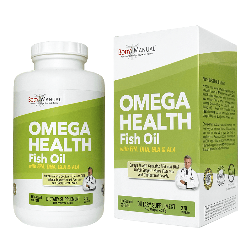 Omega Health Fish Oil