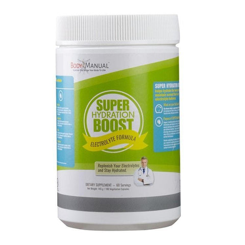 Super Hydration Boost - Capsules, Packets, Powder