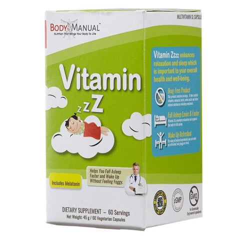Vitamin Zzzz - Capsules, Packets, Powder