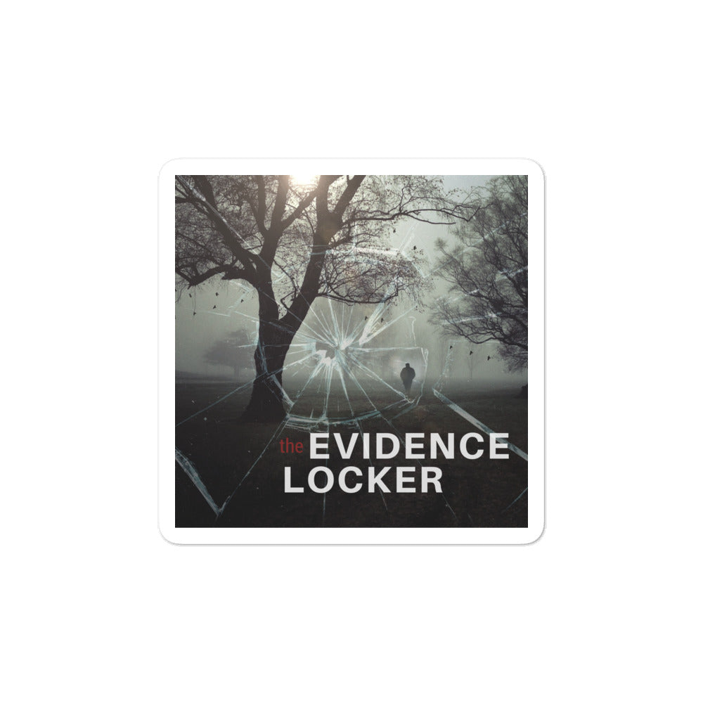 Evidence Locker Logo Sticker