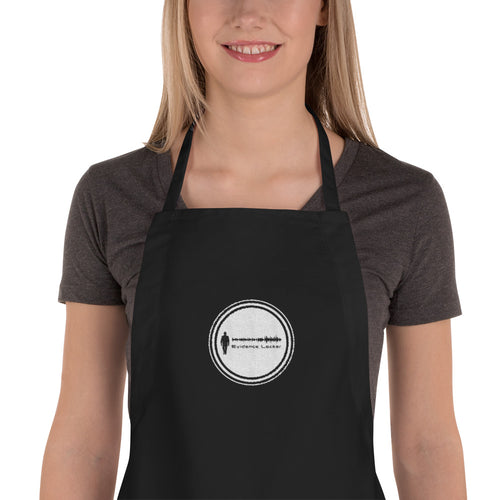 EL Embroidered Apron
