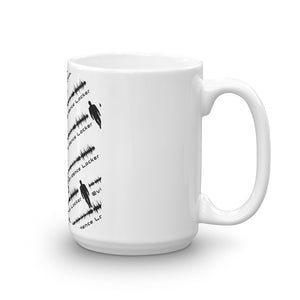 Evidence Locker Mug White