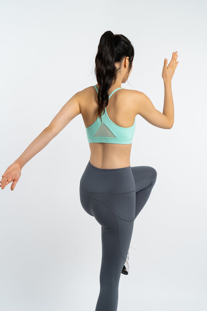Velocity Leggings in Forest Grey