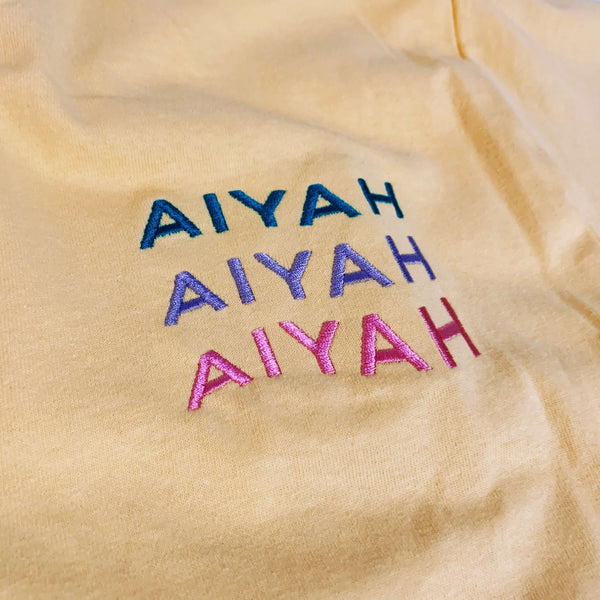 Big AIYAH - Embroidered Limited Edition