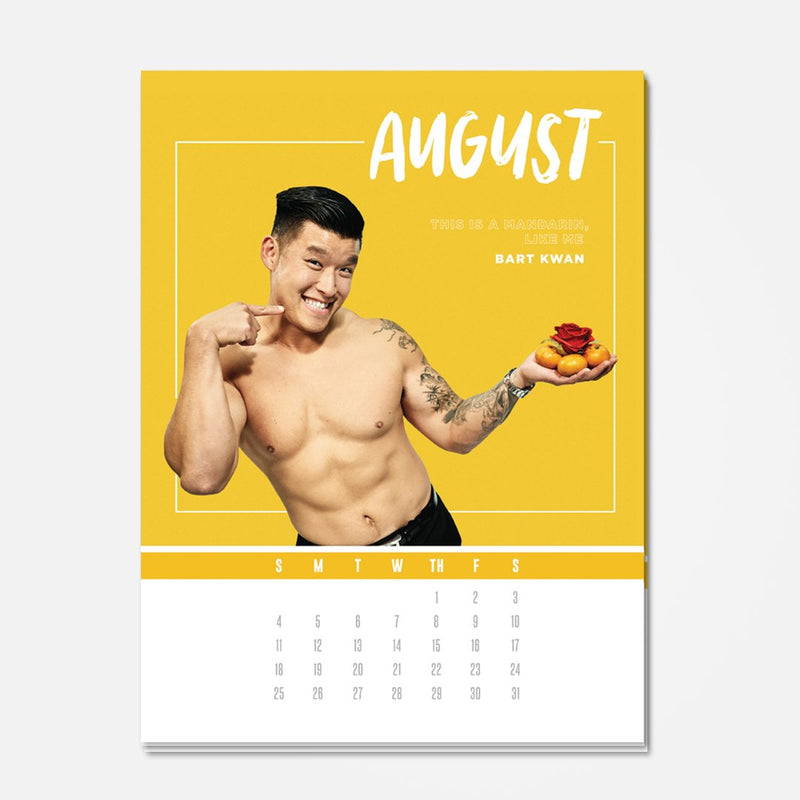 Asian Bachelorette 2019 Calendar