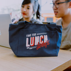 Lunch Break Tote - Insulated Tote