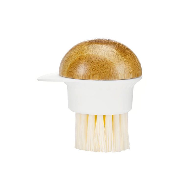 Full Circle 'Fun Guy' Mushroom Brush
