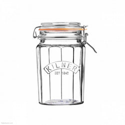 Kilner Clip Top Faceted Jar