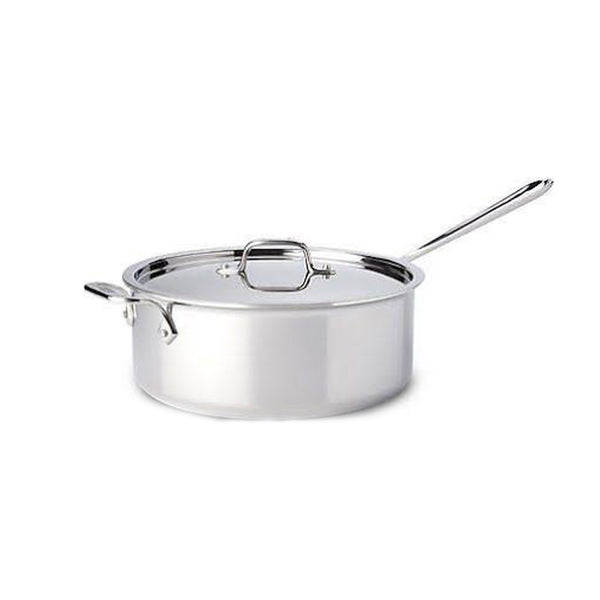 All-Clad Stainless Steel 6 Qt. Deep Saute Pan