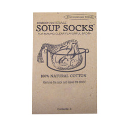 Natural Soup Socks