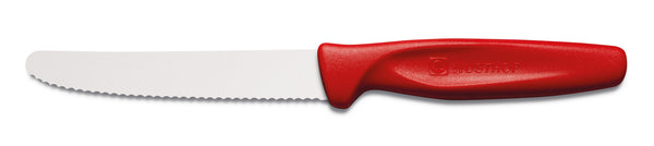 Wusthof Serrated Paring Knife - Red