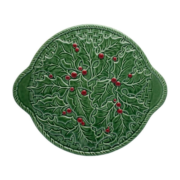 Bordallo Holly Cake Serving Plate - 36cm