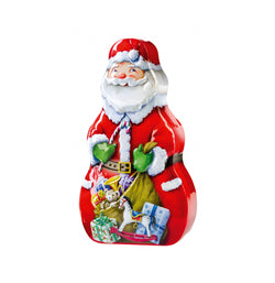 Santa Tin With Chocolates