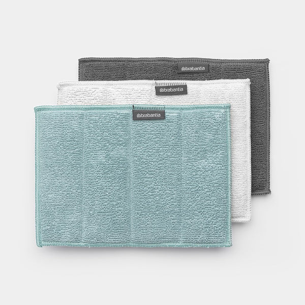 Brabantia Microfibre Cleaning Pads – Set of 3