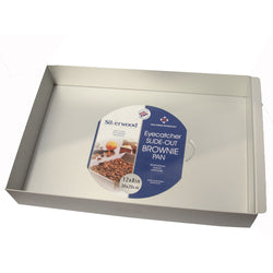 Silverwood Slide-Out Brownie Pan - 30 x 20cm