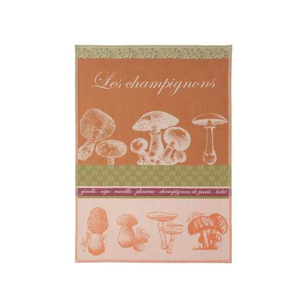 Coucke Jacquard Kitchen Towel - Mushrooms
