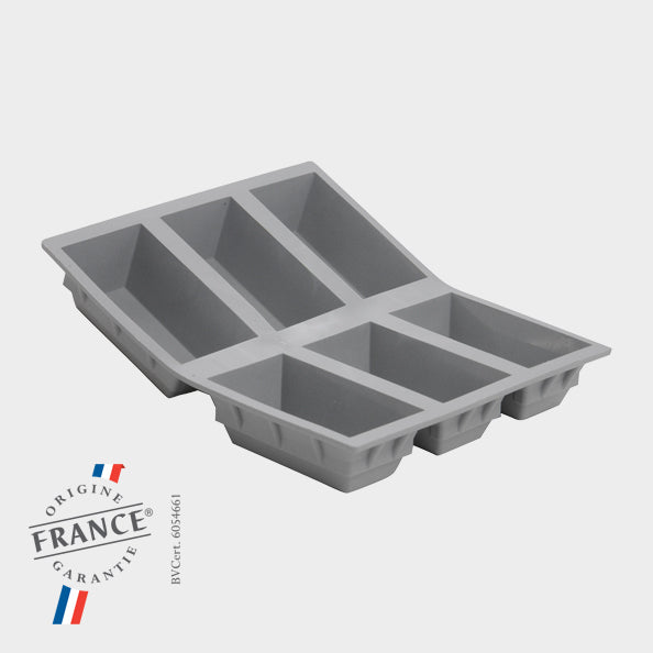 de Buyer 6-Cup Cake Portion Mould