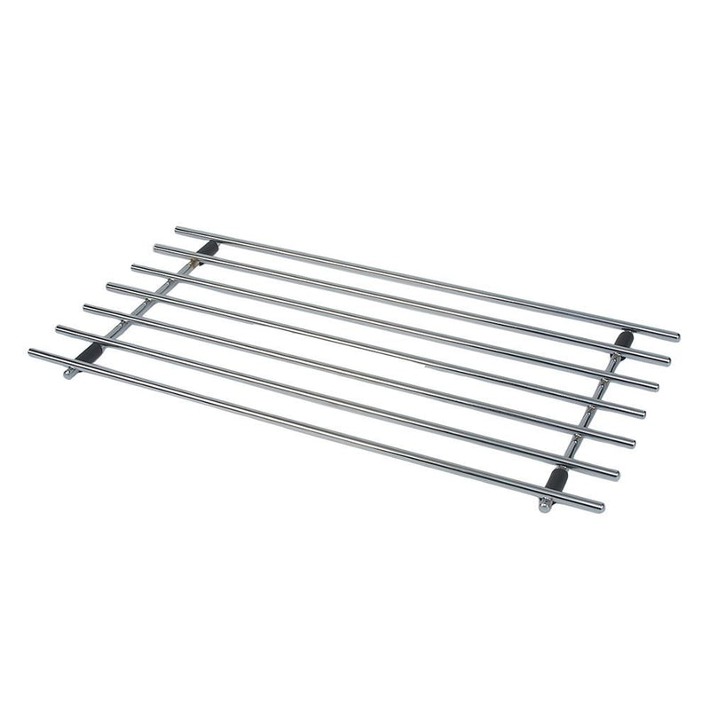 Rectangular Chrome Trivet