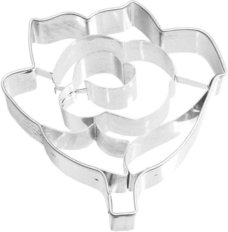 Birkmann Tinplate Cookie Cutter - Rose 6cm