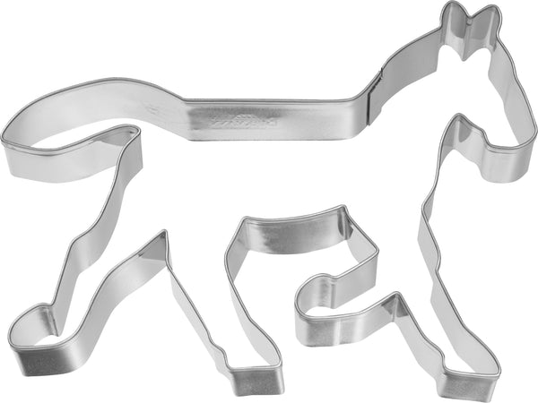 Birkmann Tinplate Cookie Cutter - Trotting Horse