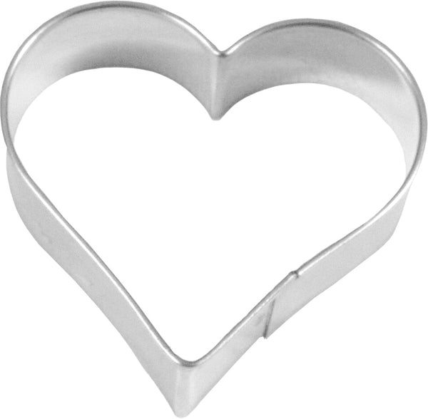 Birkmann Tinplate Cookie Cutter - Heart 7.5cm