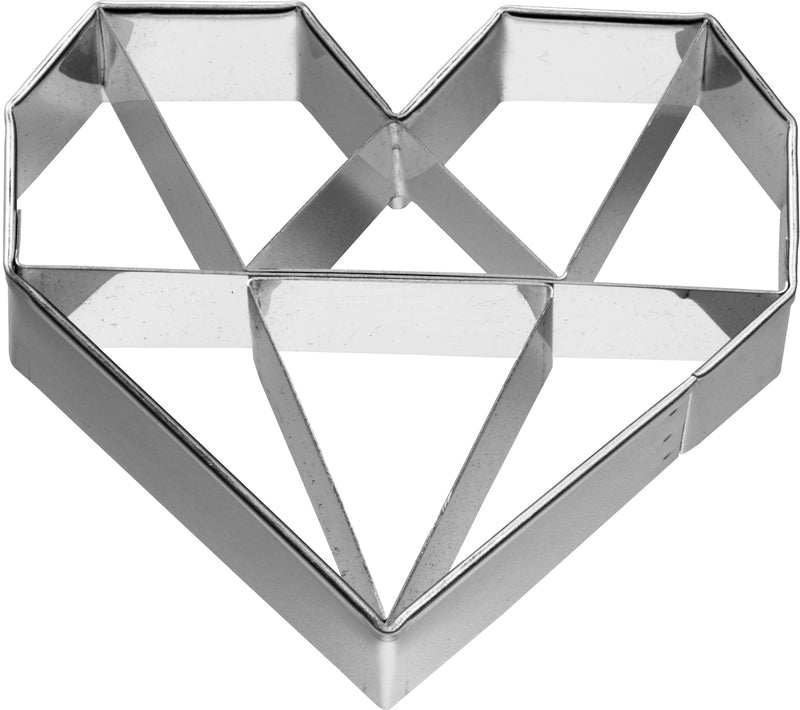 Birkmann Cookie Cutter - Geometric Heart