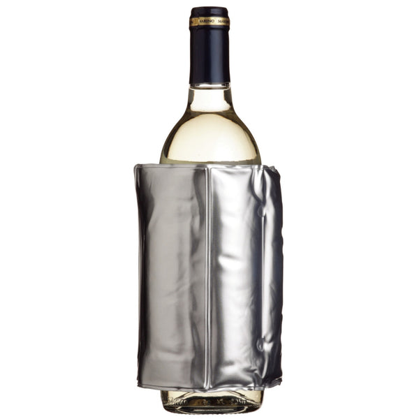 Bar Craft Silver Wine Wrap