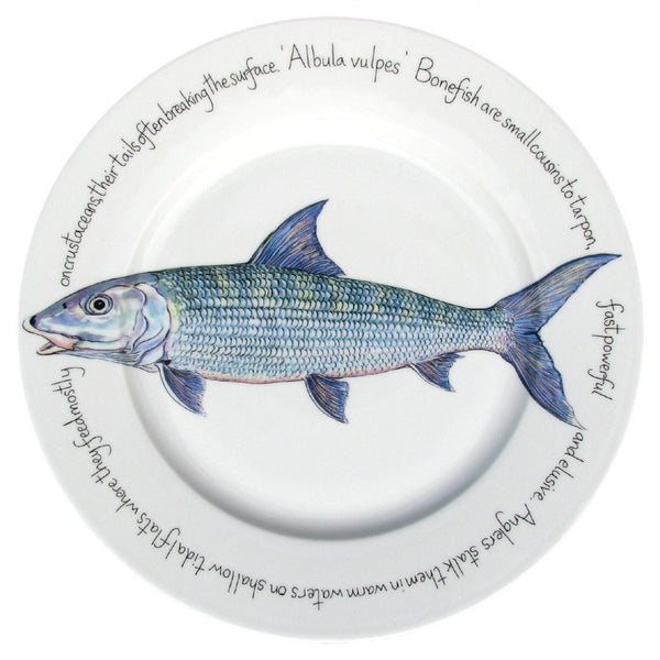 Richard Bramble 30cm Dinner Plate - Bonefish