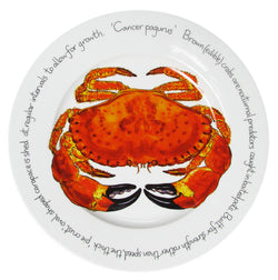 Richard Bramble 30cm Dinner Plate - Crab