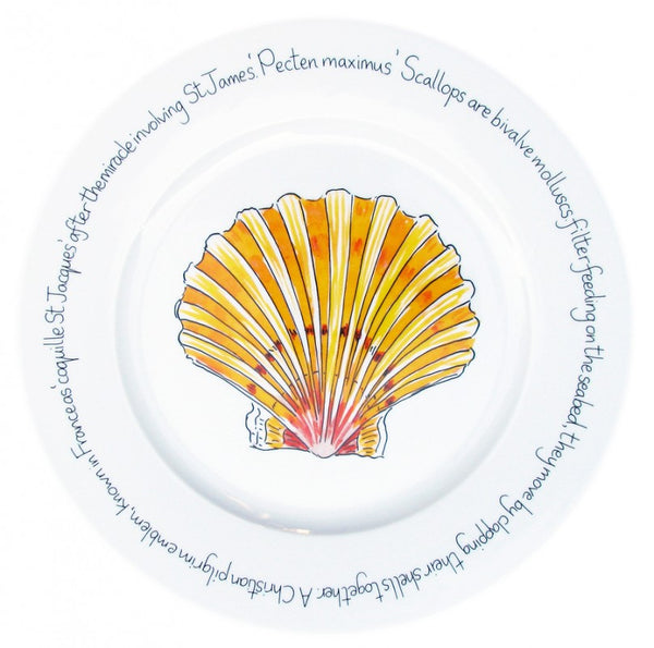 Richard Bramble Pasta Plate 30cm - Scallop