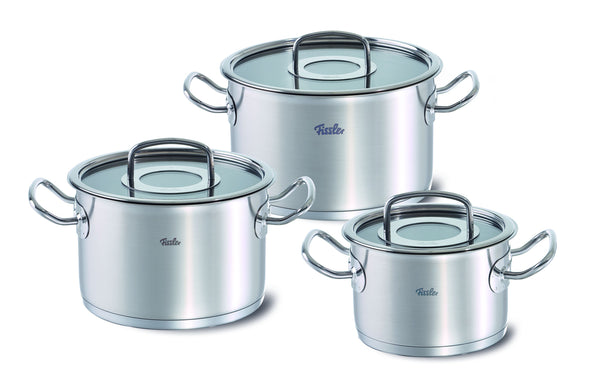 Fissler Original Profi 3 Piece Cookware Set