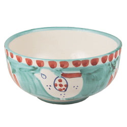 Solimene Green Gallina Deep Bowl - 13.5cm
