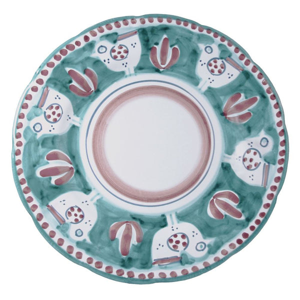 Solimene Green Gallina Dinner Plate