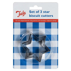 Tala Star Cookie Cutter Set