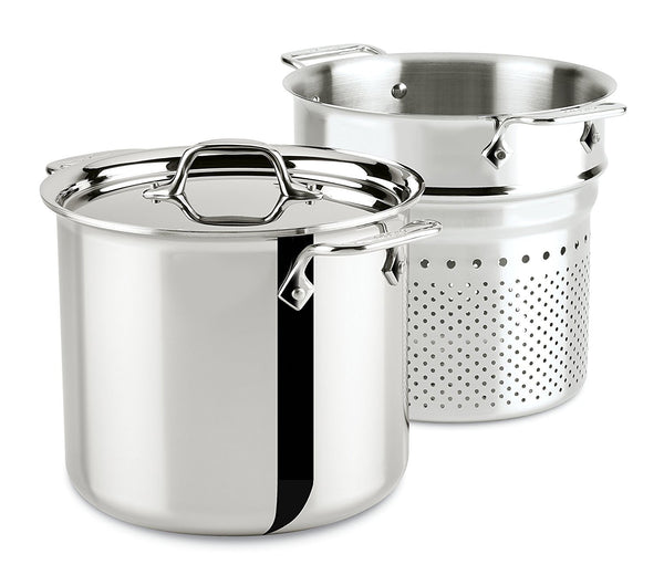 All-Clad TriPly Pasta Pot - 7Qt / 6.6L