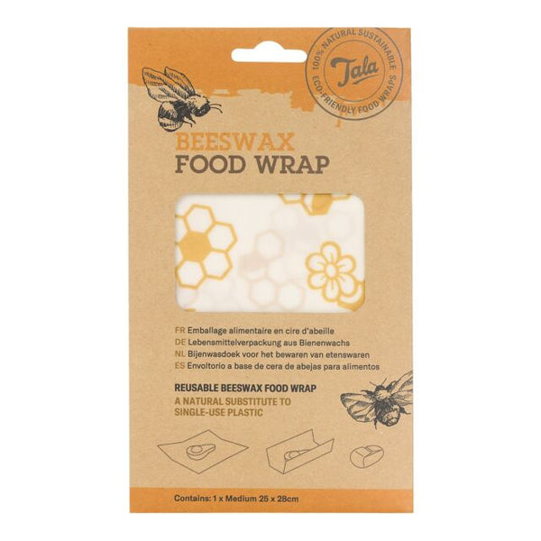 Tala Beeswax Food Wraps - 25 x 28cm