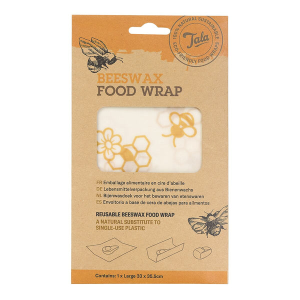 Tala Beeswax Food Wraps - 33 x 35cm