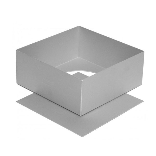 Silverwood Square Loose Base Cake Tin - 6 inch