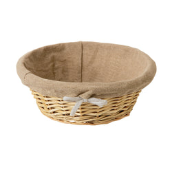 Matfer Cloth Lined Bread Basket Round