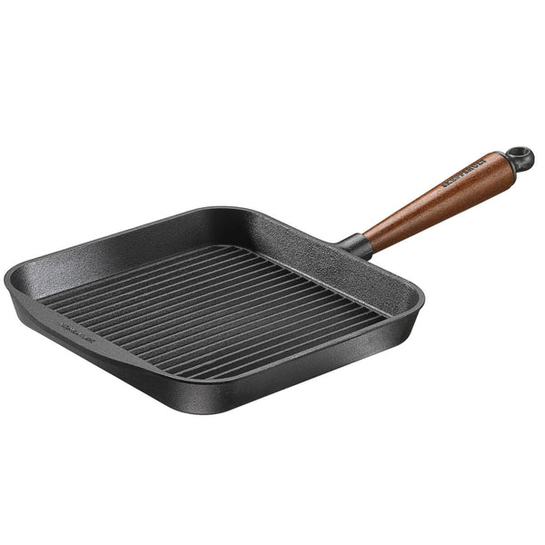 Skeppshult Cast Iron Grill Pan Square 25cm