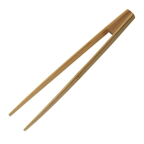 Pebbly Bamboo Toast Tongs
