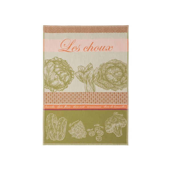 Coucke Jacquard Kitchen Towel - Cabbage