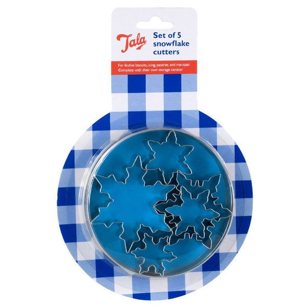 Tala Snowflake Cookie Cutter Set