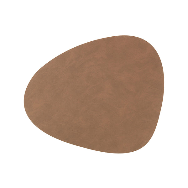 LIND DNA Nupo Curve Table Mat - Brown