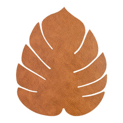 LND DNA Leather Leaf Table Mat