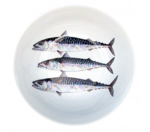 Richard Bramble Small Bowl 13cm - Mackerel