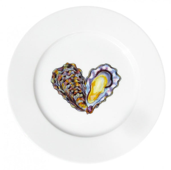 Richard Bramble Side Plate 19cm - Oysters