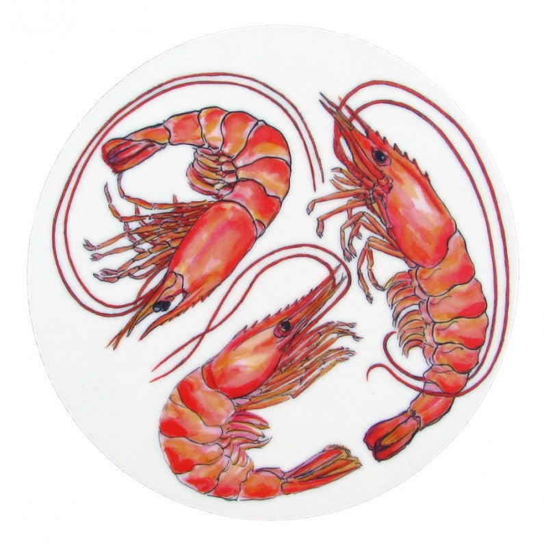 Richard Bramble Coaster - Shrimp