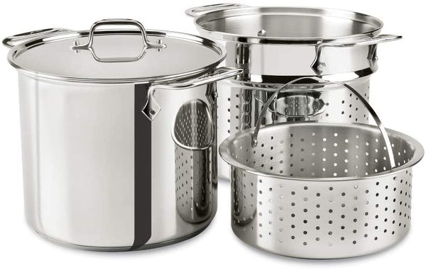 All-Clad Multi-Pot Pasta Pot/Steamer - 8qt